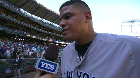Video: Betances on the last four outs