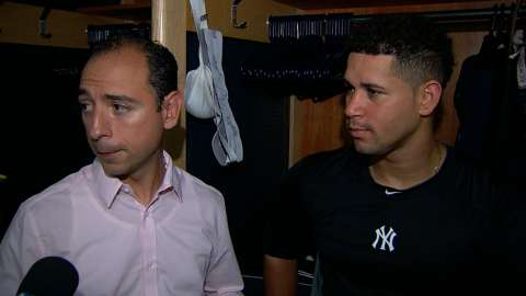Video: Sanchez on his performance