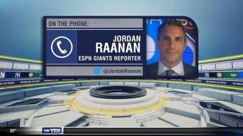 Video: Raanan provides update on Giants