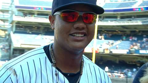Video: Castro on four-hit performance