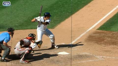 Video: Sanchez stays hot with a double