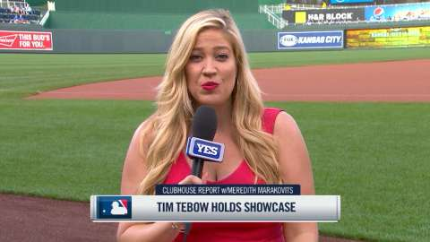 Video: Can Tebow make it in MLB?
