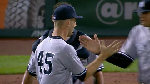 Video: Shreve gets final out for save