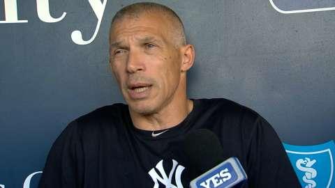 Video: Girardi on Yankees youth, Royals