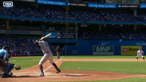 Video: Gregorius' homer ends drought