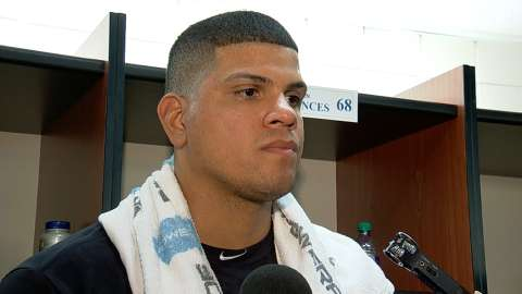 Video: Betances struggles with command
