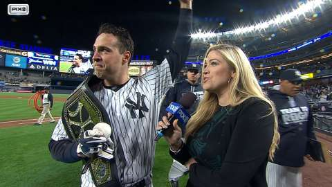 Video: Teixeira after huge grand slam
