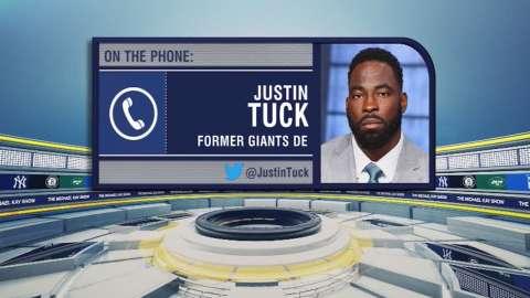 Video: TMKS: Tuck on Giants London trip