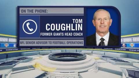 Video: Michael Kay Show: Tom Coughlin