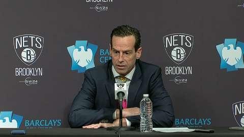 Video: Atkinson on loss to Bucks