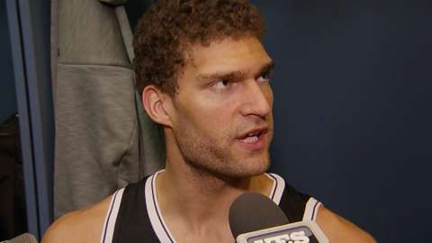 Video: Brook Lopez on his play in loss
