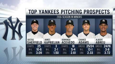 Video: Yanks get boost from farm system