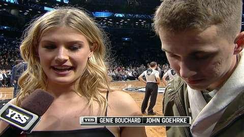 Video: Genie Bouchard's Twitter date