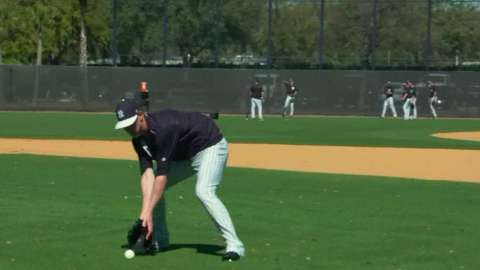 Video: Yankees Magazine: Pitcher drills