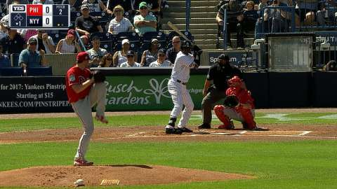 Video: Gregorius' home run in the first