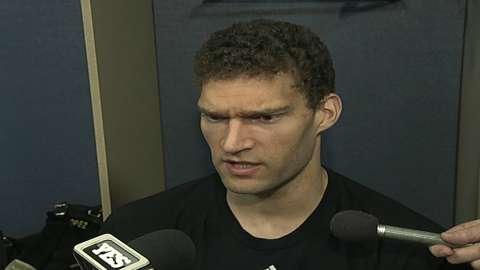 Video: Lopez on Nets' teamwork