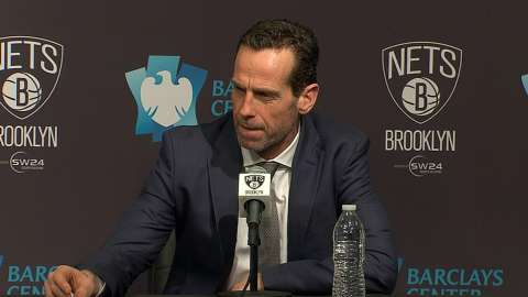 Video: Kenny Atkinson on close loss