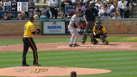 Video: Ellsbury homers to right field