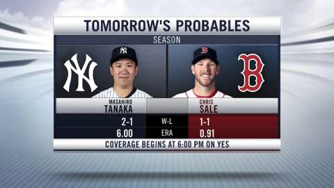 Video: Yanks face off against Sale