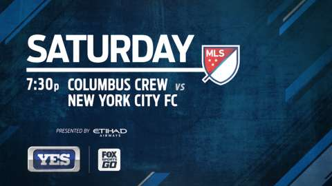 Video: NYCFC vs. Columbus on YES