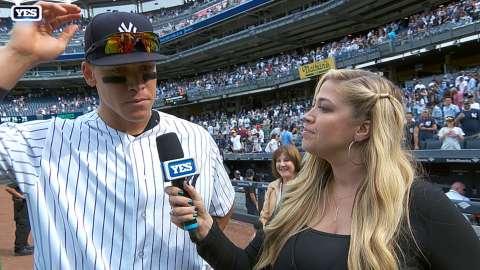 Video: Aaron Judge talks consistency