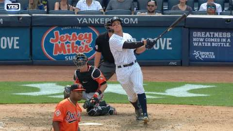 Video: Aaron Judge continues to smash