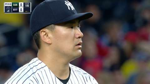 Video: Tanaka's 13th strikeout