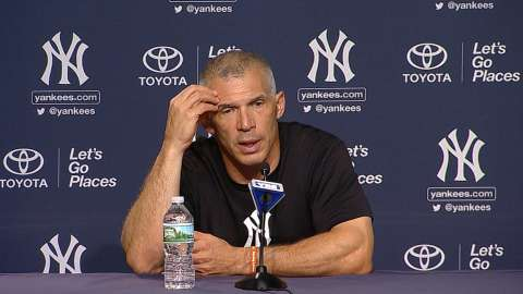 Video: Girardi on loss to Angels