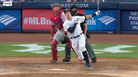 Video: Judge's 25th homer of season