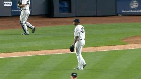 Video: Severino strikes out Pujols