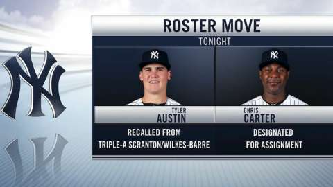 Video: Carter out, Austin in
