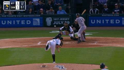 Video: Headley's RBI single