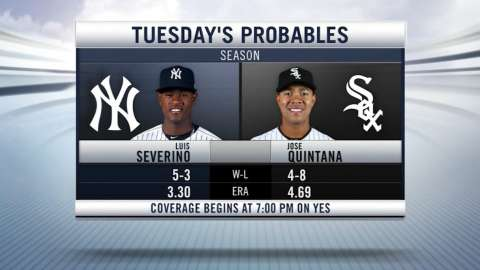 Video: NYY vs. CWS Game 2 Probables