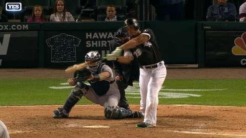 Video: Abreu's walkoff vs. the Yankees