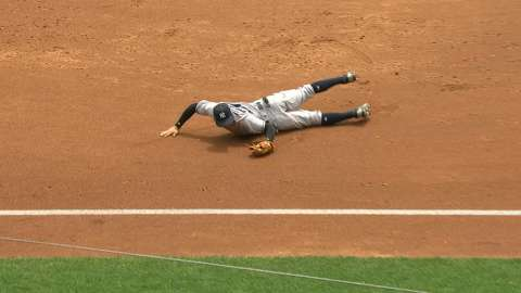 Video: Torreyes secures a diving catch