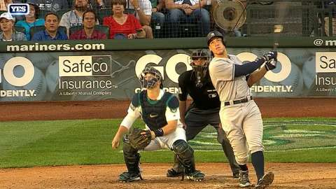 Video: Judge blasts another home run
