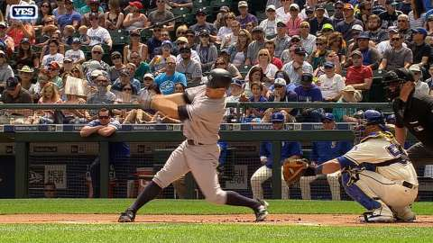 Video: Gardner's leadoff home run