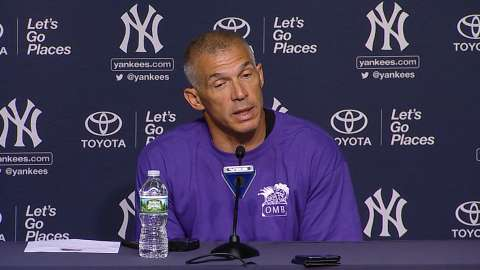 Video: Girardi on successful road trip