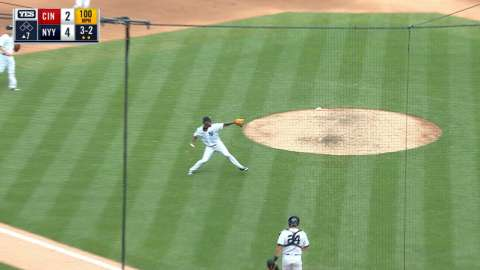 Video: Severino gets final out of 7th