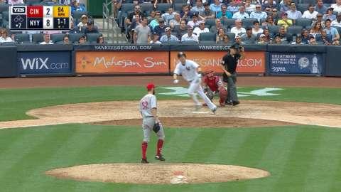 Video: Todd Frazier first Yankees homer