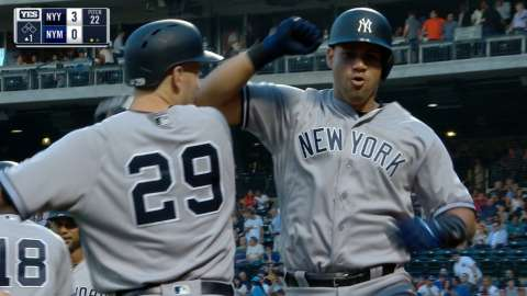 Video: Sanchez hit his 22nd home run