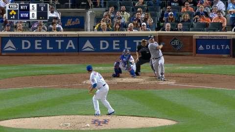 Video: Sanchez rips a two-run single