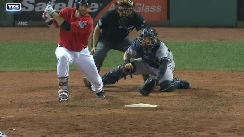 Video: Moreland drives in two