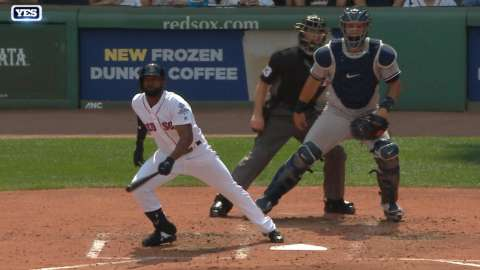 Video: Bradley Jr.'s two-run triple