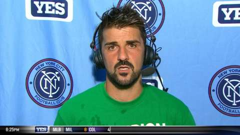 Video: Villa on his goal, 2-1 victory