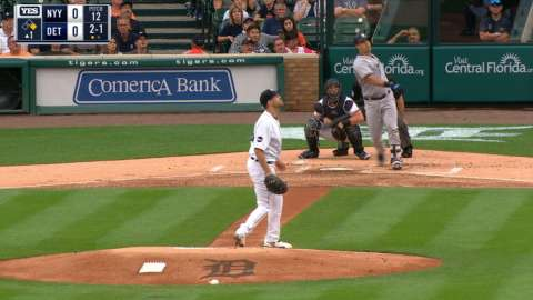 Video: Sanchez's tape measure home run