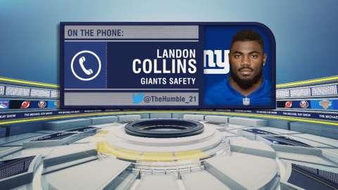 Video: TMKS: Collins on Giants' win