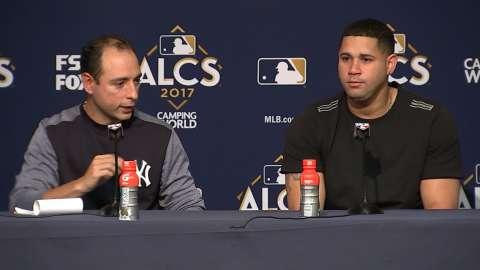 Video: Sanchez on breaking through
