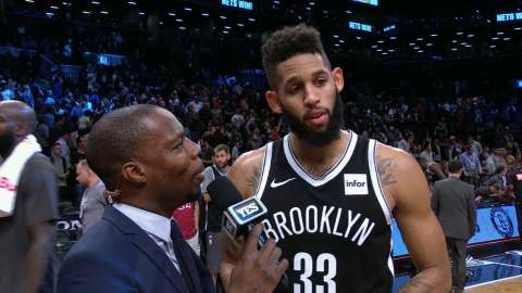 Video: Crabbe talks win over Hawks