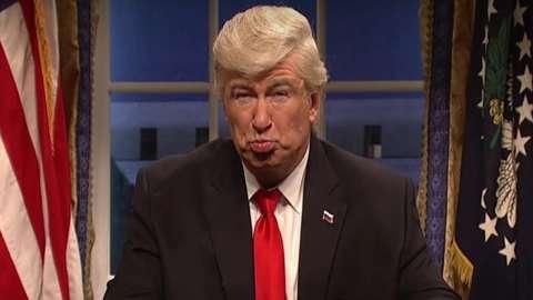 Video: Alec Baldwin on playing Trump